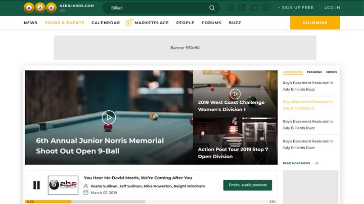 AZBilliards.com 2019